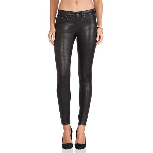 rag & bone Denim - Rag & Bone Skinny Leather Pants Size 28